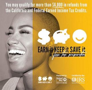Flyer for EKS tax support