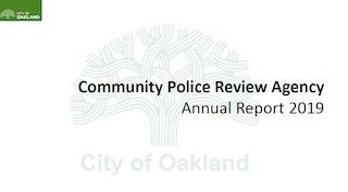 2019 CPRA Annual Report Cover
