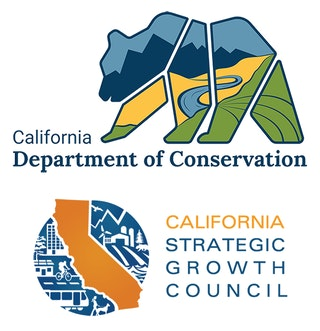 CA Dept. of Conservation and Strategic Growth Council logos
