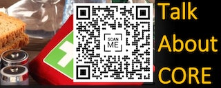 Scan the QR code to share this information quickly.