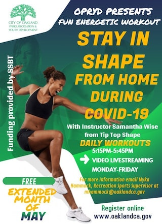 Stay in Shape with OPRYD
