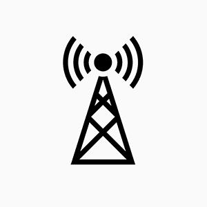 Telecom facility icon