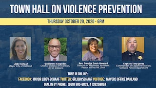 Town Hall on Violence Prevention