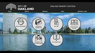 Video Image: Register for Online Permit Center