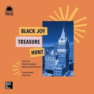 Flyer for the Black Joy Parade