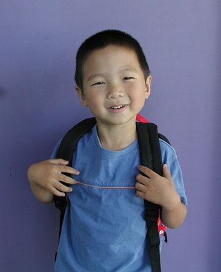 Photo of young child Head Start