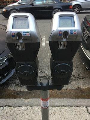 Single-space parking meters