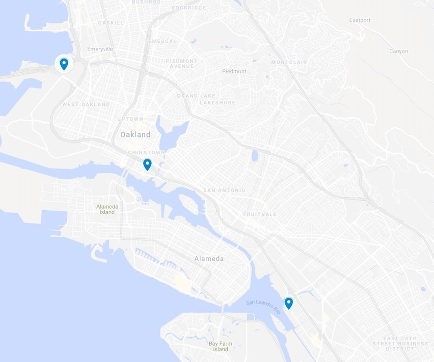 City Of Oakland Map on