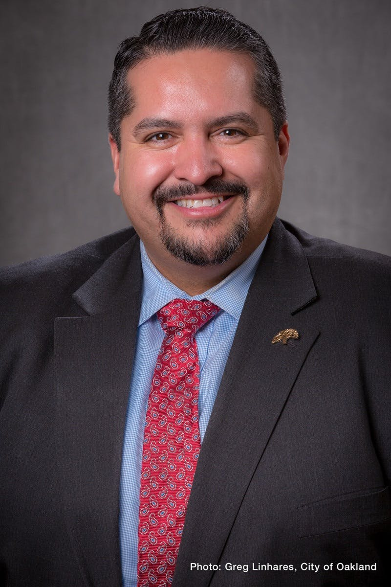 Portrait of District 2 Councilmember, Abel Guillén