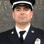 Portrait of Lieutenant of Fire, Justin Sanchez