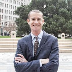 Portrait of Director of Education, David Silver