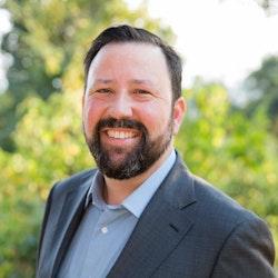 Portrait of Director of Communications, Justin Berton