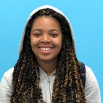 Portrait of Recreation Aide, Njeri Armstrong