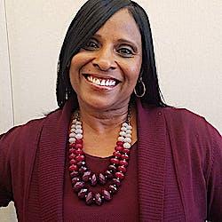 Portrait of Executive Assistant to the City Administrator, Yolanda Morris