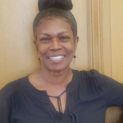 Portrait of City Administrator Analyst, Saundra Eve-Fisher