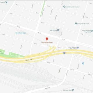500 Kirkham Street-Location Map500 Kirkham Street Mixed-Use Development Project