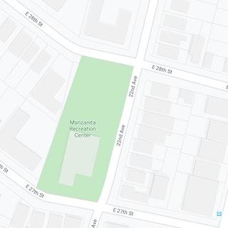 Google map locationManzanita Park Tot Lot
