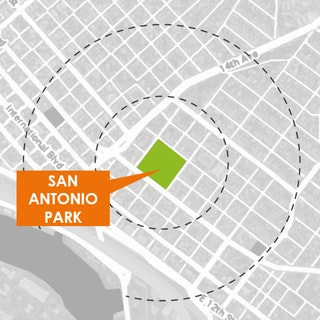 Map of Project: San Antonio Park Master Plan